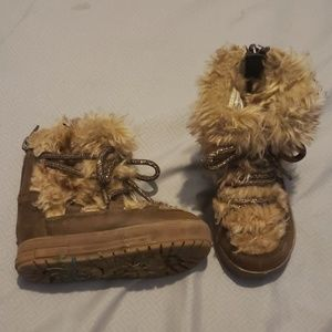 Genuine Kids Fur Boots